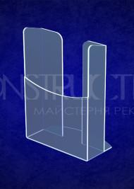 Підставка з прозорого акрилу під поліграфію настільна формату А5