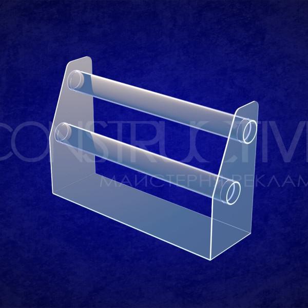 Підставка з акрилу для демонстрації браслетів діаметр 60 мм
