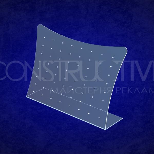 Пластикова підставка для демонстрації сережок