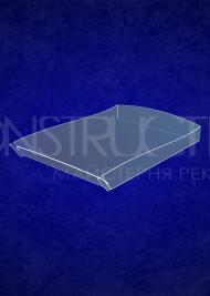Настільна підставка з прозорого пластику під поліграфію під формат А4
