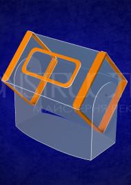 Лототрон пластиковий настільний розміром 500x300x300 мм на 45 літер